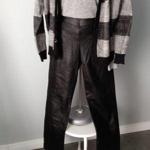 🌟NWOT DANIER LEATHER Pants, Highwaist